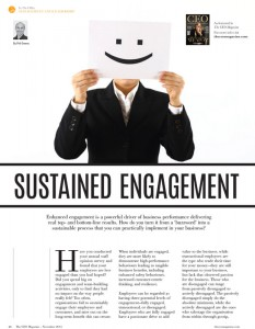 CEO Magazine - Sustained Engagement Feature with Phil Owens